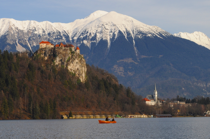 bled lake, bled castle