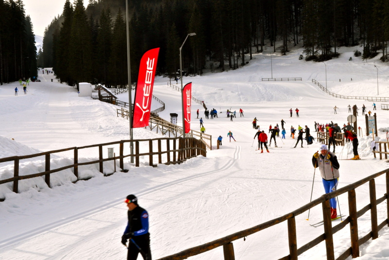 pokljuka, ski center, bled