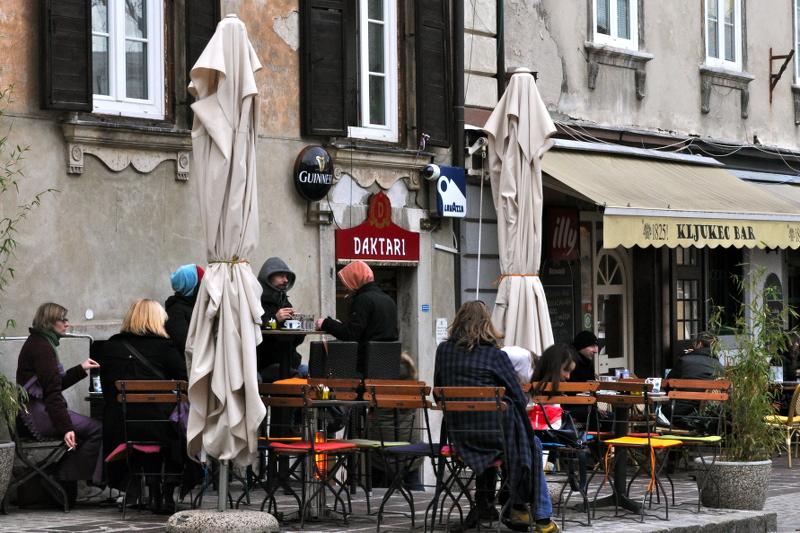 cafes, ljubljana