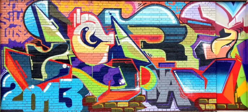 2013 street art in Belgrade