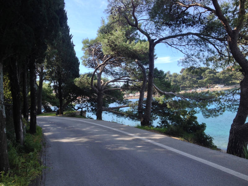 Bicycle Touring in southern Croatia around Cavtat