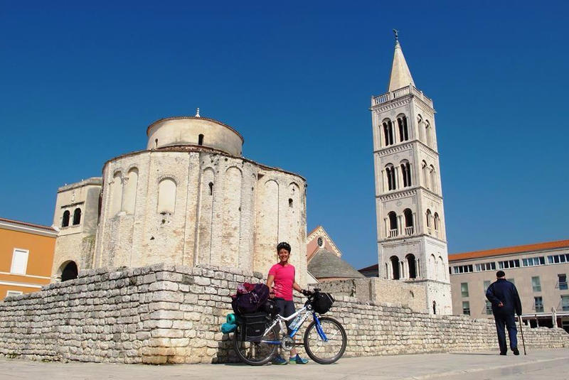 Bicycle Touring in Zadar, Croatia