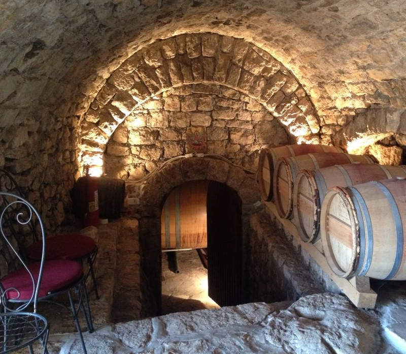 The cellar in the Tvrdos Monastery in Trebinje