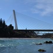Millenium Bridge in Podgorica, Montenegro