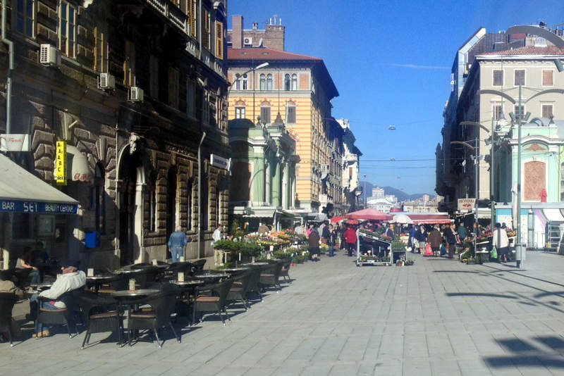 Bicycle Touring through Rijeka, Croatia
