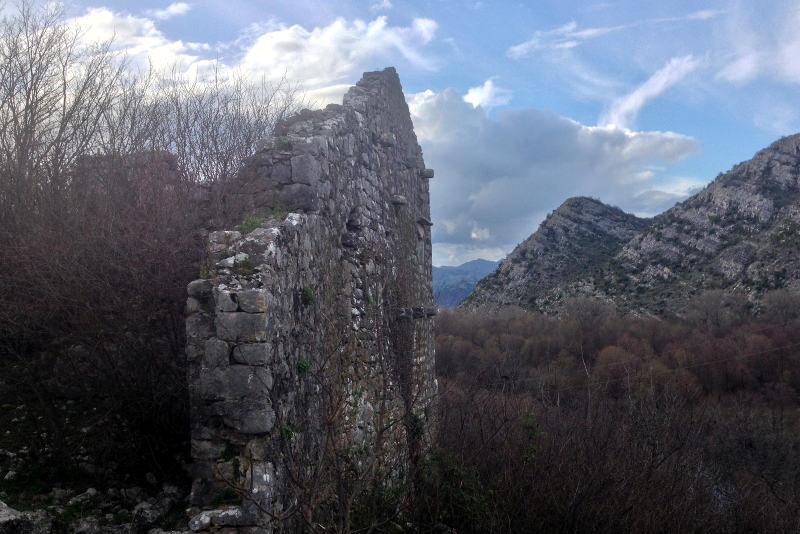 Zabljak Crnojevica in Montenegro