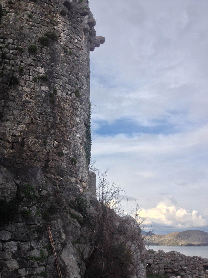 A turret of the Zabljak Crnojevica Castle