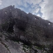The Zabljak Crnojevica Fortress in Montenegro