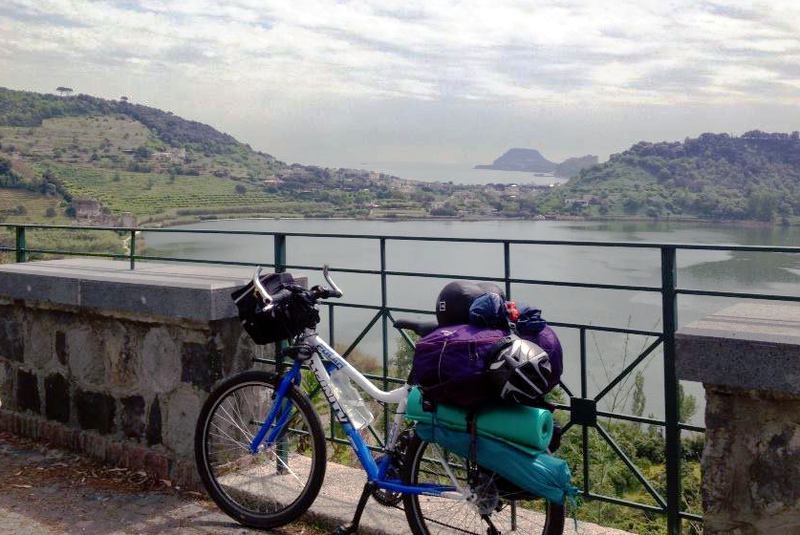 Bicycle Touring and Anne Mustoe