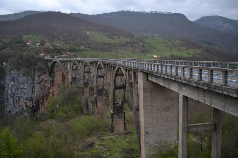 Durdevica Bridge over Tara Canyon