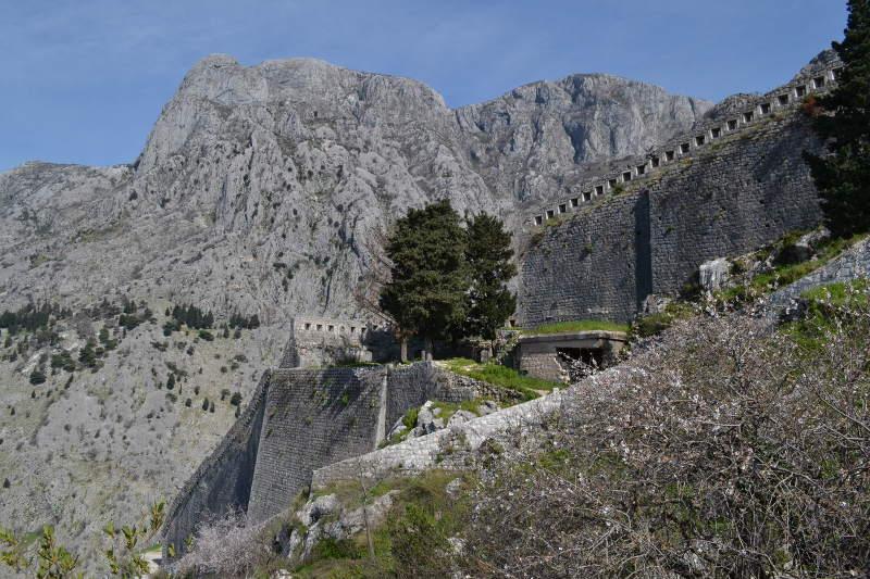 Kotor - St. John's built into side of mountain - Meanderbug