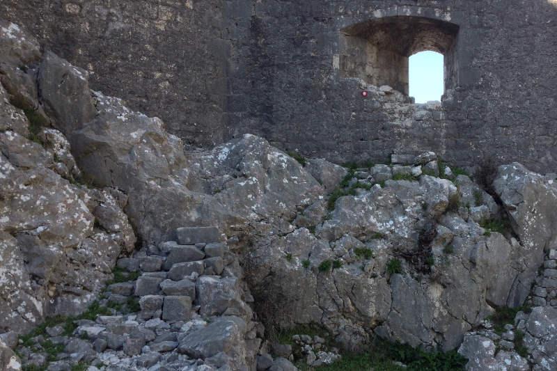Secret passage at St. John's Fortress