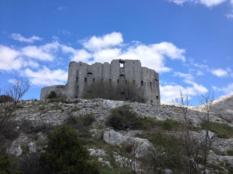 Kosmac Fortress near Budva, Montenegro - meanderbug