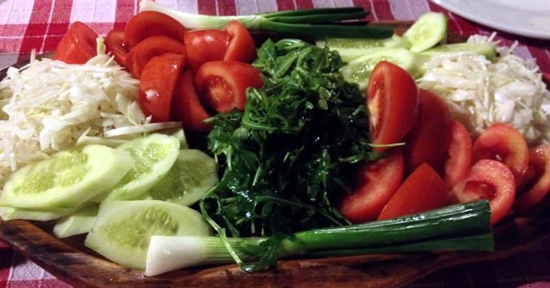 Kužina garden salad