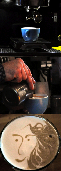 coffee, latteart, thessaloniki, greece - meanderbug