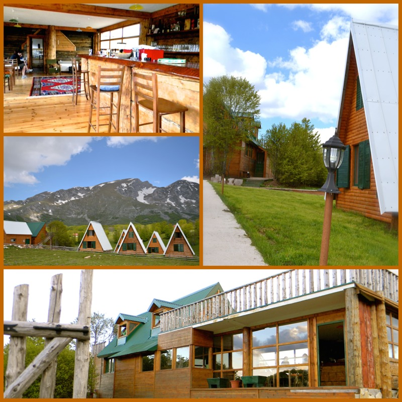Eco Village Etno Selo Sljeme in Durmitor - Meanderbug
