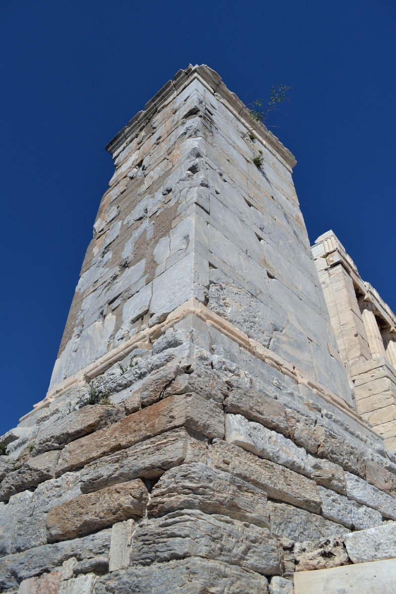 Monument of Agrippa on Acropolis in Athens - meanderbug