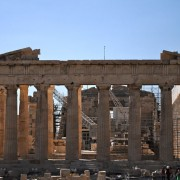 Parthenon in the Acropolis a UNESCO site - meanderbug