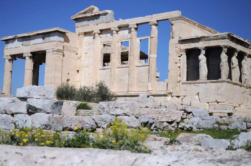 Erechtheum Temple on the Acropolis - meanderbug
