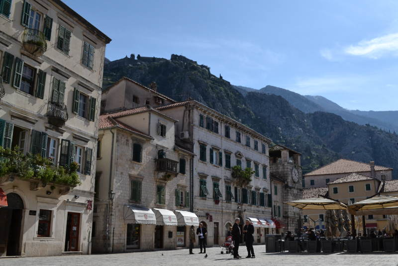 Inside Kotor Old Town - meanderbug
