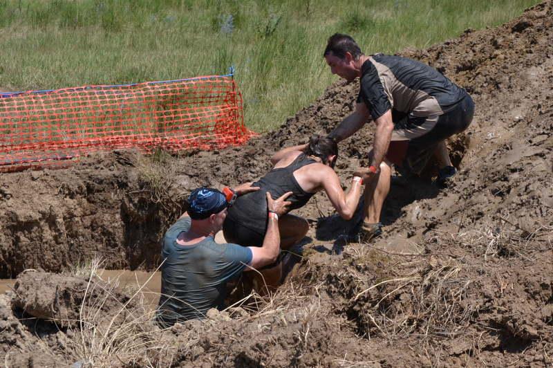Working as team at Legion Run - meanderbug