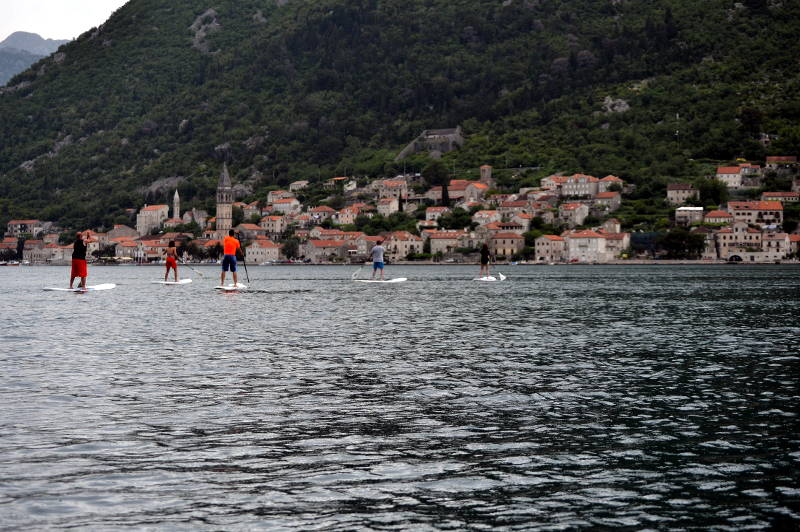 "SUP to Perast w/ ""Montenegro Plus"" - meanderbug"