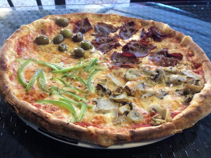 Wood-fired pizza - meanderbug