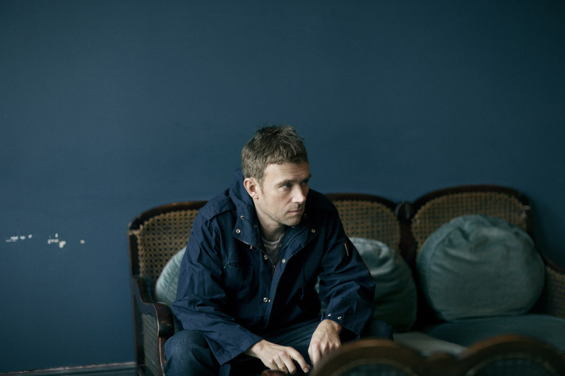 Damon Albarn official pic - photo by Linda Brownlee