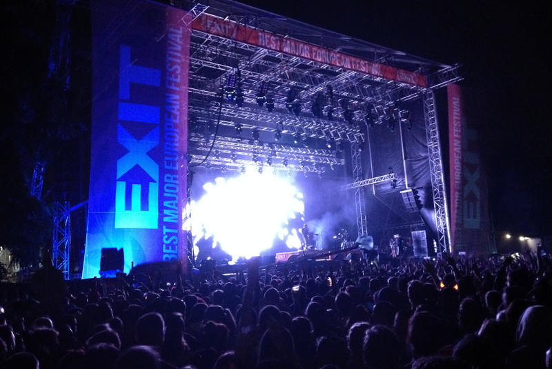 Dub FX at Exit Festival 2014 - meanderbug