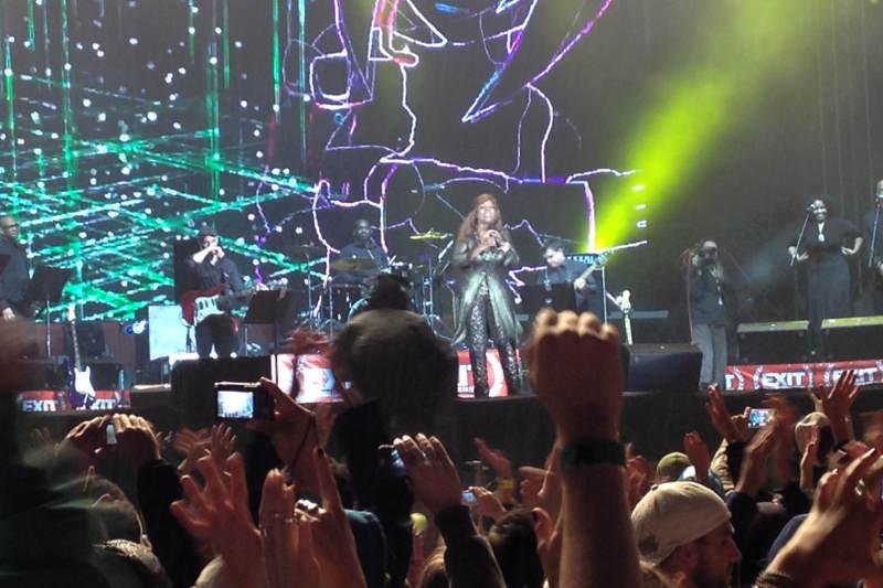 Gloria Gaynor at Exit 2014 - meanderbug