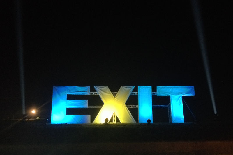 Exit Festival history, music, & future - meanderbug