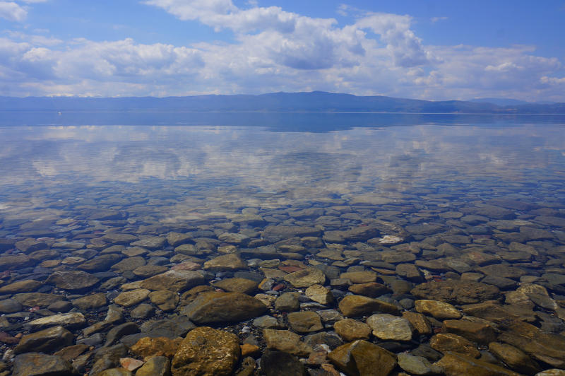 Lake Ohrid - meanderbug