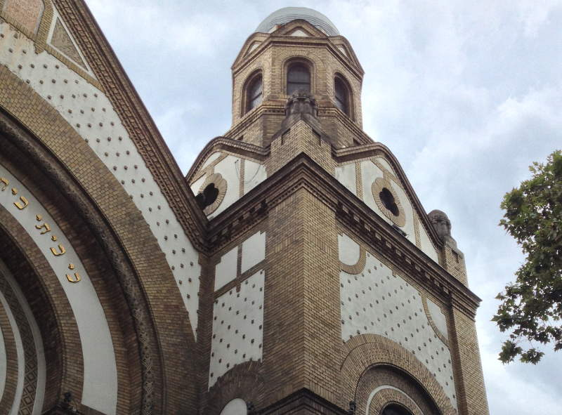 The Novi Sad Synagogue - meanderbug