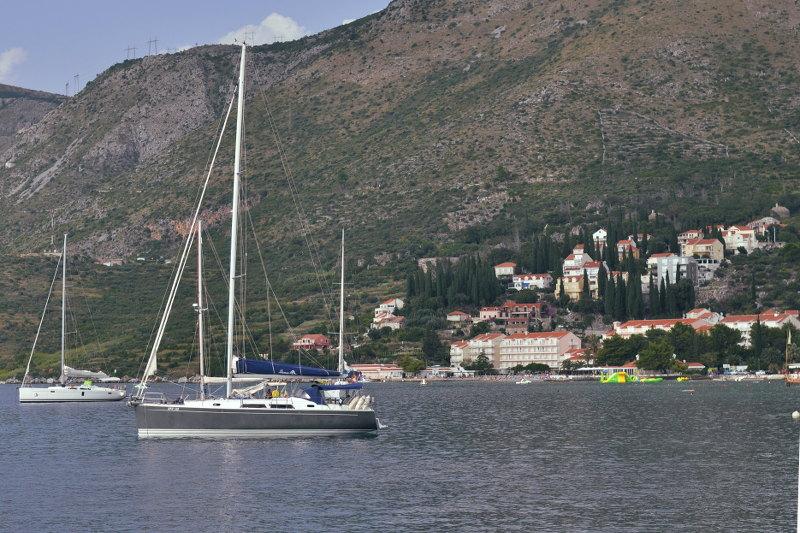 cavtat- marina- croatia - meanderbug
