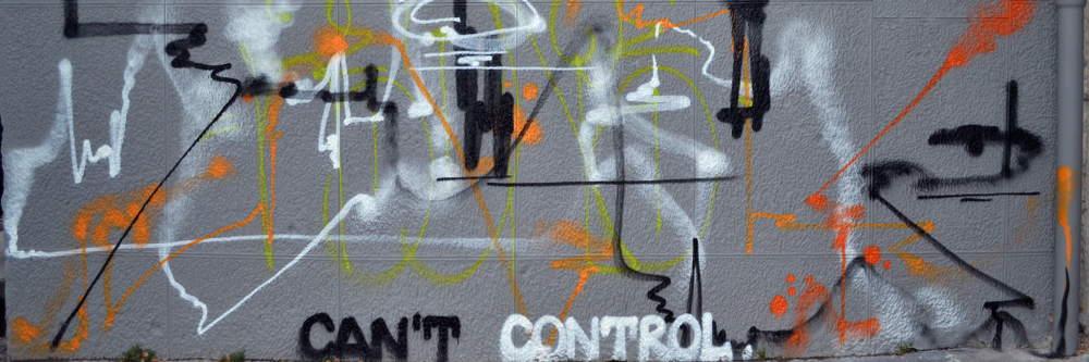 Graffiti in Sarajevo - meanderbug