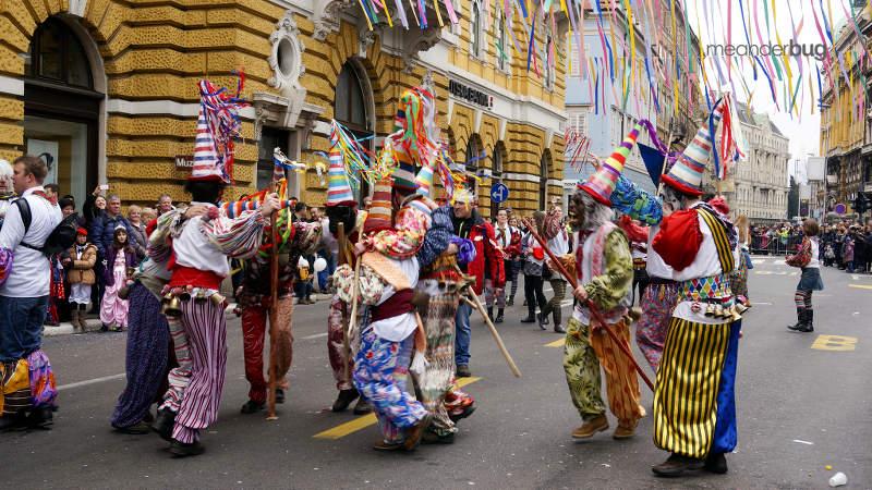 clowns - Carnival - Rijeka - Croatia - Meanderbug