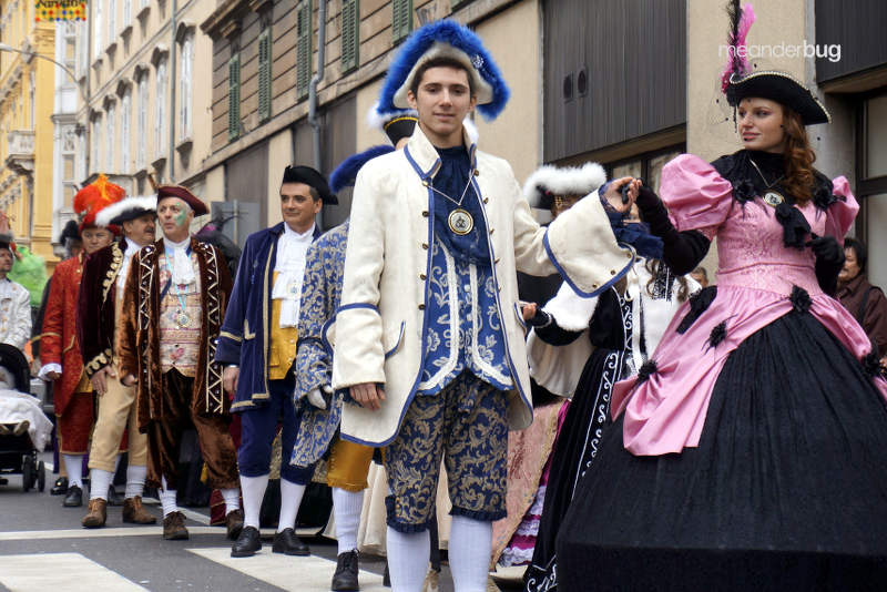 Carnival - Rijeka - tradition - Meanderbug