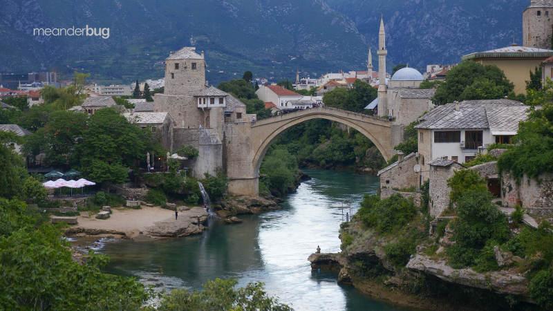 Mostar, Bosnia and Herzegovina - photo by Truman Yu