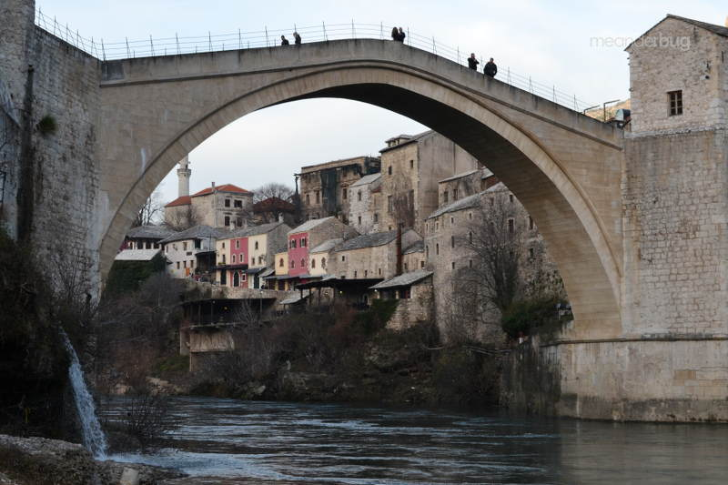 Mostar Bridge, a UNESCO world heritage site - meanderbug