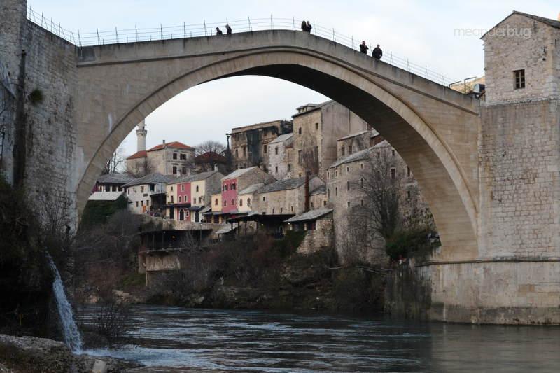 Mostar Bridge, a UNESCO world heritage site - meanderbug