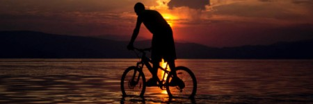 Mountain biking Ohrid - meanderbug