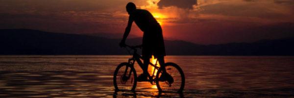 Mountain biking Ohrid - meanderbug