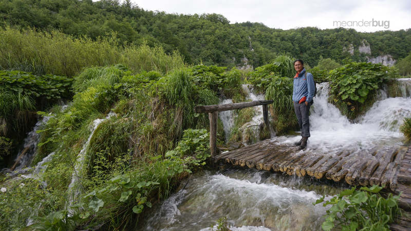Photographer at Plitvice - meanderbug