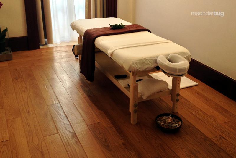 Massage at Villa Miločer - meanderbug