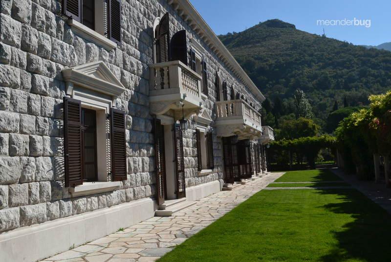 Villa Miločer, part of Aman Sveti Stefan