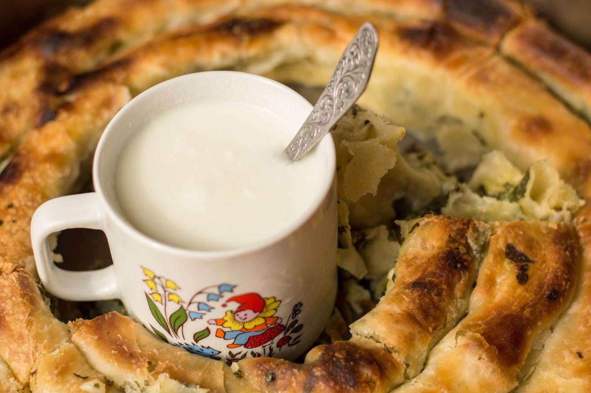 authentic montenegrin pita or burek
