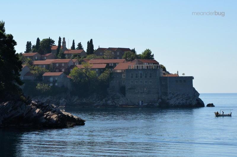 Sveti Stefan Island in Montenegro - meanderbug