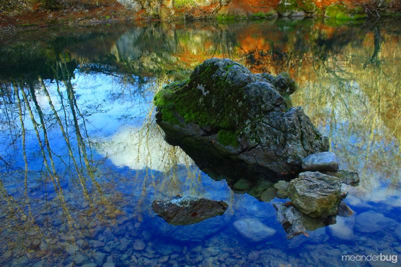 Spring fed lake Prokletije - Montenegro