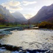 Gusinje Montenegro - meanderbug