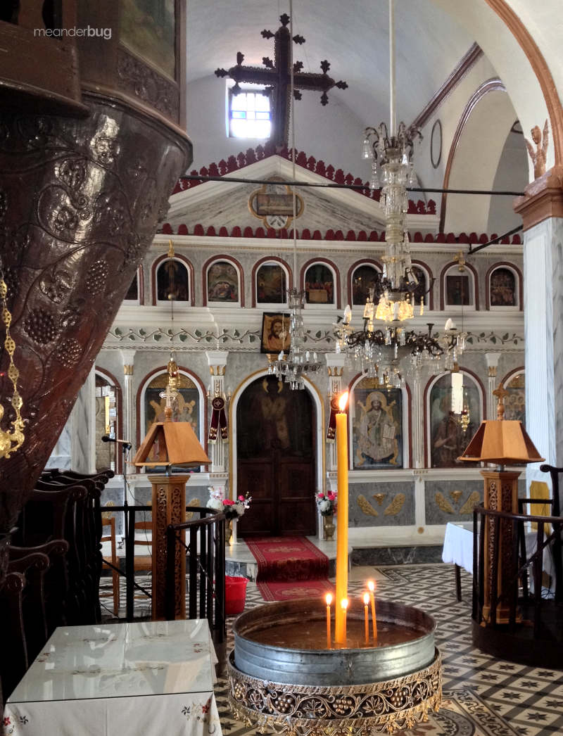Greek Orthodox Church in Panteleimonas, Greece - meanderbug